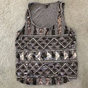 Express Jewel Tank Top